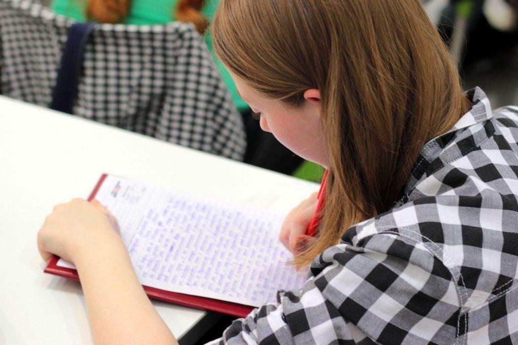 Der schriftliche Aufnahmetest sollte nicht auf die leichte Schulter genommen werden