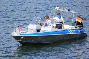Unter anderem ist die Wasserschutzpolizei bei der Bereitschaftspolizei angegliedert