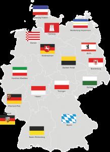 In Deutschland ist Polizei Ländersache