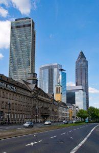 Das Polizeipräsidium in Frankfurt am Main