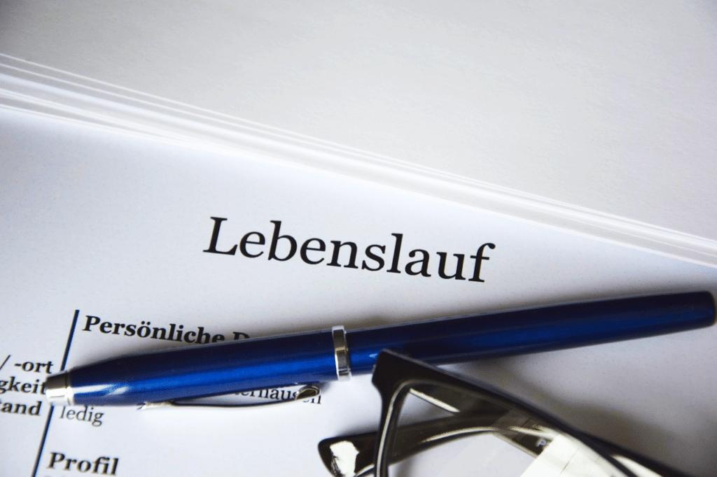 Lebenslauf für Bewerbung Polizei Schleswig-Holstein