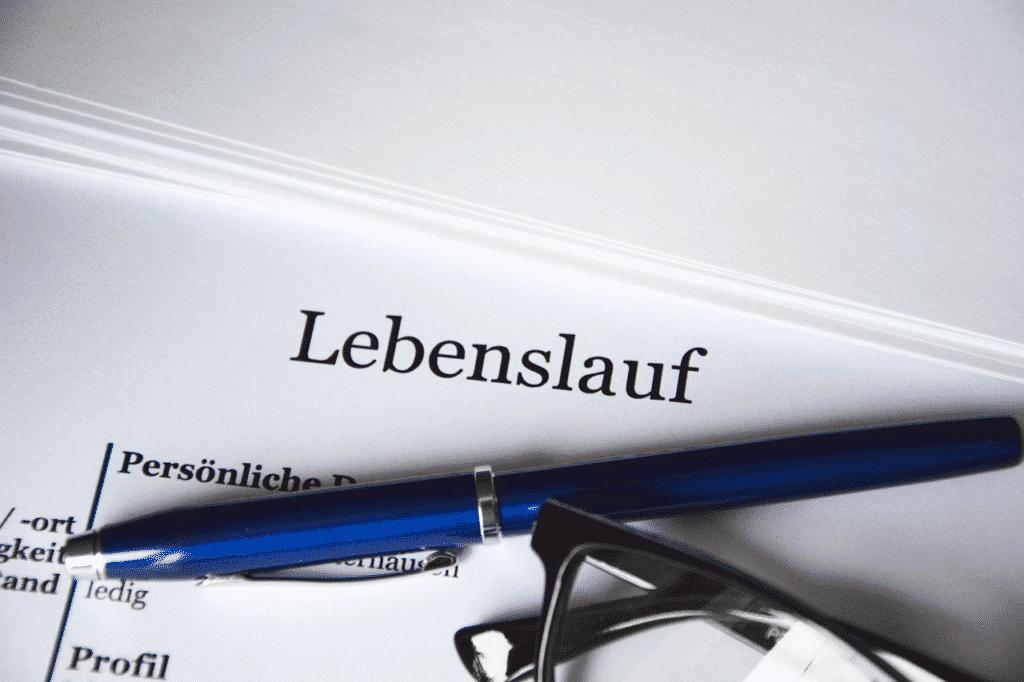 Lebenslauf für Bewerbung Polizei Bayern