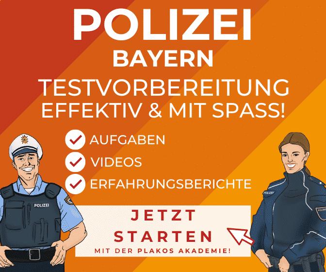ᐅ Einstellungstest Aufnahmeprufung Polizei Bayern Eav 15