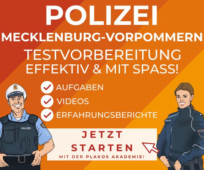 ᐅ Polizei Mecklenburg Vorpommern Bewerbung
